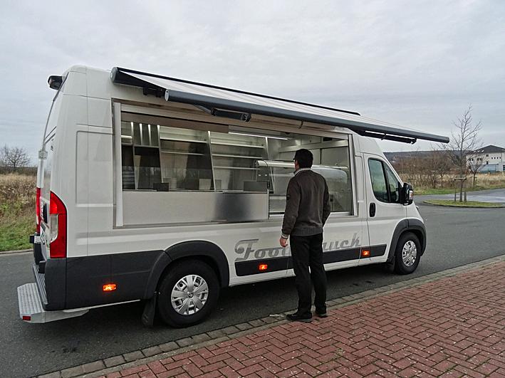 Auvent Food Truck